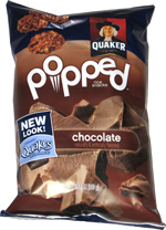 Quaker Rice Cakes Chocolate Quaker Popped Chocolat...
