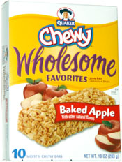 Quaker Wholesome Favorites Baked Apple