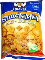 Quaker Snack Mix Baked Cheddar