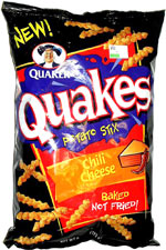 Quaker Quakes Chili Cheese Potato Stix