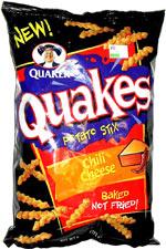 Quaker Quakes Chili Cheese Potato Stix