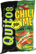 Quitos Chili Lime Corn Chips