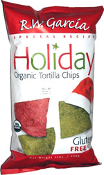R.W. Garcia Special Recipe Holiday Organic Tortilla Chips