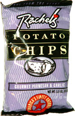 Rachel's Potato Chips Gourmet Parmesan & Garlic