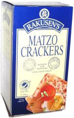 Rakusen's Matzo Crackers