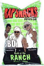 Rap Snacks BBD Back at the Ranch Flavored Chips