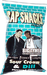 Rap Snacks Big Tymers Sour Cream & Dill Flavored Chips