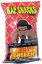 Rap Snacks Hot Cheezie Popcorn