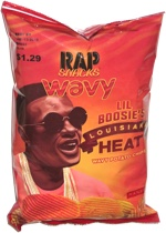 Rap Snacks Lil Boosie's Louisiana Heat Wavy Potato Chips