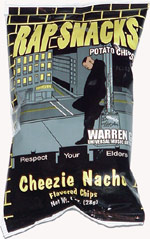 Rap Snacks Warren G Cheezie Nacho Flavored Chips