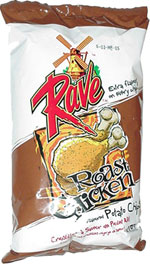 Rave Roasted Chicken Flavoured Potato Chips