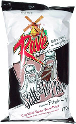 Rave Salt & Pepper Flavoured Potato Chips