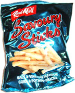 Red Mill Savoury Sticks Salt & Vinegar Flavour