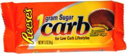 Reese's 1 Gram Sugar Carb