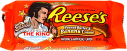 Reese's Elvis Peanut Butter & Banana Creme Collector Edition