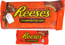 Reese's 2 Half Pound Cups!