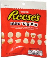 White Reese's Mini Cups
