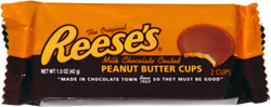The Original Reese's Milk Chocolate Coated Peanut Butter Cups