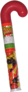 Reese's Pieces Candy Cane