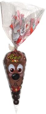 Reese's Pieces reindeer bag