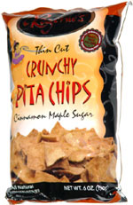 Regenie's Thin Cut Crunchy Pita Chips Cinnamon Maple Sugar