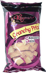 Regenie's Crunchy Pitas Habanero Salsa