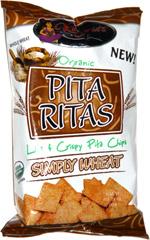 Regenie's Organic Pita Ritas Simply Wheat