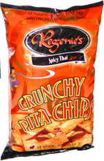 Regenie's Spicy Thai with Lime Crunchy Pita Chips