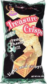 Regenie's Treasure Crisps Cream Cheese & Dill