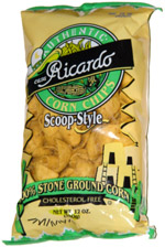 Casa Ricardo Corn Chips Scoop-Style