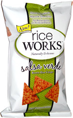 Rice Works Salsa Verde Brown Rice Crisps