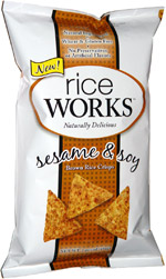 Rice Works Sesame & Soy Brown Rice Crisps