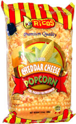Ricos Premium Quality Cheddar Cheese Popcorn