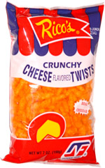 Rico's Crunchy Cheese Twists