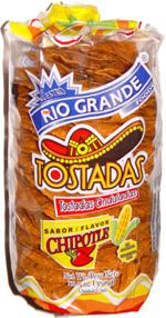 Rio Grande Tostadas Chipotle Flavor