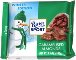 Ritter Sport Caramelized Almonds