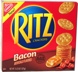 Ritz Crackers Bacon