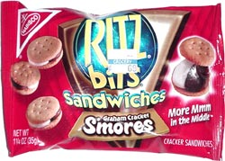 Ritz Bits Sandwiches Graham Cracker S'mores