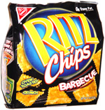 Ritz Chips Barbecue