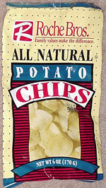 Roche Bros. All-Natural Potato Chips
