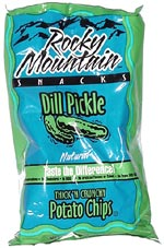 Rocky Mountain Dill Pickle Potato Chips
