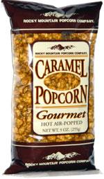 Rocky Mountain Popcorn Company Caramel Popcorn