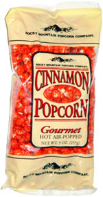 Rocky Mountain Popcorn Company Cinnamon Popcorn