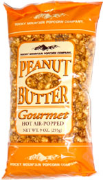 Rocky Mountain Popcorn Company Peanut Butter Popcorn