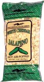 Rocky Mountain Popcorn Company White Cheddar Jalapeno Popcorn