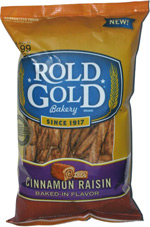 Rold Gold Cinnamon Raisin Baked-in Flavor Braided Pretzel Twists