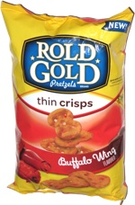 Rold Gold Thin Crisps Buffalo Wing Flavor