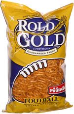Rold Gold Football Shaped Pretzels