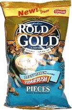 Rold Gold Pretzels Zesty Ranch Flavor Rush Pieces
