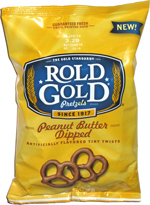 Rold Gold Peanut Butter Dipped Artificially Flavored Tiny Twists
